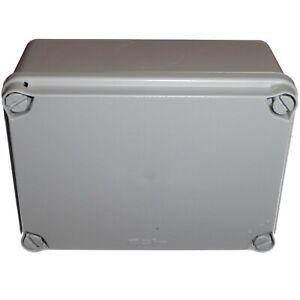 Junction Box 167 x 121mm IP65-IP67 Waterproof Adaptable Enclosure Made In Spain