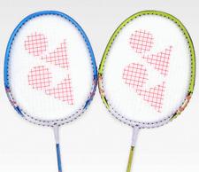 Yonex Badminton Racket B-6500I Blue Lime Racquet String with Cover 2 SET 99g