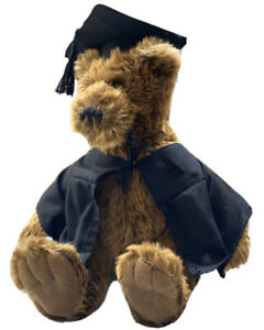 Hansa Plush Toy Graduation Bear Stuffed Animal