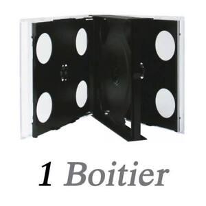 Boitier pour 6 CD Noir