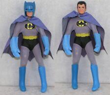 "Mego 8"" 1970s WGSH Batman Set REMOVABLE COWL ALL ORIGINAL Bruce Wayne B"