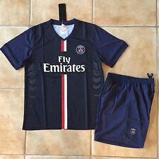 Soccer team PSG navy jersey Futbol uniform Size S XL