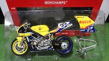 MOTO  DUCATI 998 RS WSB 2003 Steve Martin au 1/12 Minichamps 122031299 miniature