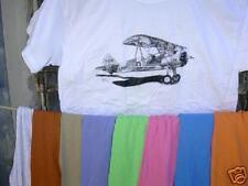 "Stearman PT17 ""Yellow Peril"" XXL Tshirt FREE S&H IN US!"