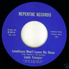 Louis Younger RARE DEEP SOUL FUNK 45 A Friend In Need on Nepenthe Label HEAR IT