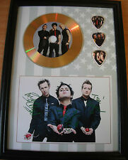 Green Day Gold Look CD, Autograph & Plectrum Display - Best Price on eBay