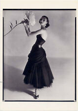Evelyn Tripp≈Charles James dress≈1951 Photo by Horst POSTCARD Haute Couture