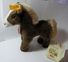 """STEIFF COLLECTION!   """"COSY FERDY HORSE-YELLOW EAR TAG"""" 097522 NOT BOXED"""