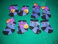 Halloween Baby Socks Cats Lotof8 Newborn 0-3Mo Nwt