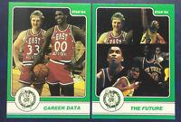 1984-85 Star Larry Bird 2 Card Lot #16 And 18 NM-MT OR BETTER Celtics HOF Psa?