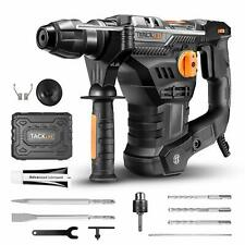 Tacklife 1 14 Inch Sds Plus 125 Amp Rotary Hammer Drill 7joules Impact Energy