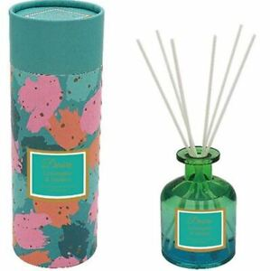 Home Giant Reed Diffuser Peach & Teal Large 200ML Bottle