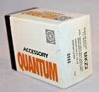 NEW QUANTUM BATTERY 1/1 MKZ2 MODULE f NIKON SB 24 25 26 27 CANON 540 CONTAX 360