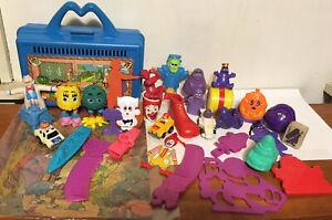 Huge Lot Of VTG McDonalds Ronald & Friends McDonaldland Happy Meal Toys Grimace