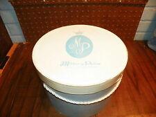 "Vintage MILLER & PAINE Department Store 10"" Hat Box - Lincoln, Nebraska"