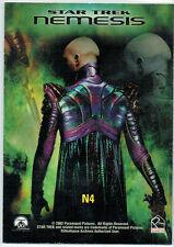 STAR TREK ENTERPRISE SEASON 1 BOX LOADER NEMESIS PREVIEW CARD N4