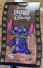 Disney Stitch Crashes Pin Beauty and the Beast Limited Release In Hand