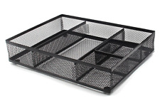 EasyPAG Mesh Collection Desk Accessories Drawer Organizer, Black