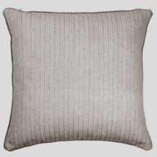 Hamptons Style Una Bronze 40x40cm with Pom Pom Edge Cushion Cover RRP $ 27.95