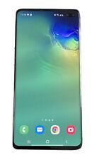Samsung Galaxy S10+ SM-G975U - 128GB - Prism White (Unlocked) (Single SIM)