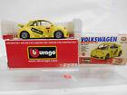 """eso-9585 Bburago 1:43 Volkswagen Käfer """"New Beetle Cup"""""""