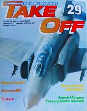 take off 29 imperial airways, sabre vs mig, tankers, recon with the high rollers