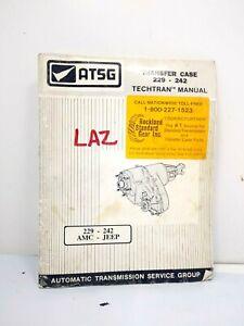 . ATSG TRANSFER CASE 229-242 TECHnical repair MANUAL JEEP -AMC