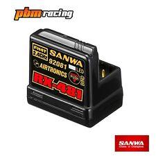 SANWA rx-481 Récepteur 2.4ghz fh3 fh4 4 CH SSR Integrated Antenna sa107a41251a