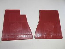 Datsun 510 Vintage Floor mat AMCO Super rare in Red! (104-1)