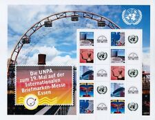 UN 2009 - 19th Int'l Stamp Fair, Essen - Personalised Stamp Sheet - MNH (S27)