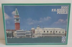 F.X.Schmid 3000 Piece Venezia Panorama Jigsaw Puzzle New and sealed