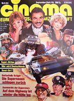 CINEMA + 09/1984 + HIGHWAY II + BURT REYNOLDS + BELMONDO + MAD MISSION III +