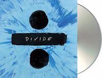 "Ed Sheeran ""÷"" (divide) Deluxe Edition CD + Bonus-Tracks NEU Album 2017"