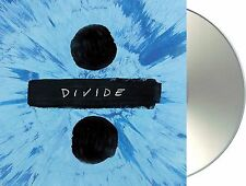 "Ed sheeran"" ÷"" (Divide) DELUXE EDITION CD + BONUS-tracks NEUF album 2017"
