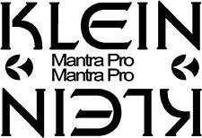 Klein MANTRA PRO Retrò mountain bike frame Adesivi Decalcomanie