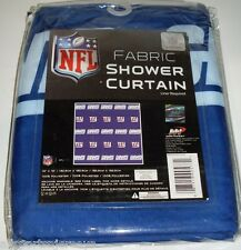 NFL 72 X 72 Inch Fabric Shower Curtain New York Giants