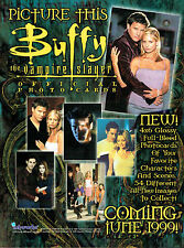 BUFFY THE VAMPIRE SLAYER PHOTO CARDS PROMOTIONAL SELL SHEET