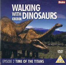 WALKING WITH DINOSAURS   - EPISODE 2 - TIME OF THE TITANS - PROMO DVD (BBC 1998)