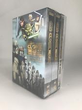 Star Wars : The Clone Wars Complete Series (Dvd, 25-Disc Set) Brand New Region 1