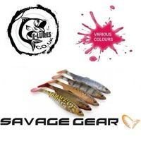 SAVAGE GEAR herring shad 4D Soft Fishing Lure | PIKE | PERCH |ZANDER