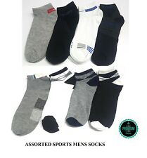 12 Pairs Men boys sports socks office work summer winter casual assorted 6-11