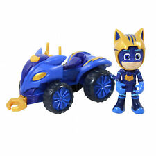 Disney Pj Masks Kids Toy Atv Mystery Mountain Catboy Quad Collectible Vehicle