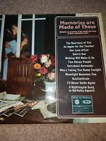 MEMORIES ARE MADE OF THESE LP MFP STEREO 1348