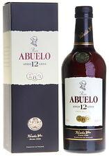 Ron Abuelo 12 Anos Gran Reserva Rum 0 7 Liter 40