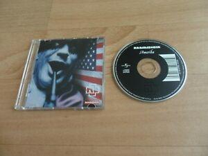 "RAMMSTEIN - AMERIKA  (VERY RARE 2 MIX GERMAN 3"" CD SINGLE)"