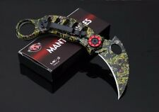 Karambit folding knife self-defense Tactical Survival Hunting Mantis CINQ 3 MK-3