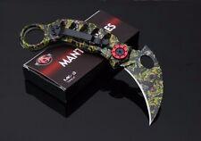 Karambit folding knife self-defense Tactical Survival Hunting Mantis CINQ 3 MK-3