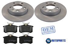 VW Bora Saloon 1999-2005 Brake Disc Shields Diameter 295mm 1 Pair O//S /& N//S