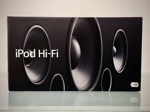 Apple iPod iPhone Dock Hi-Fi A1121 NEU NEW SEALED COLLECTORS RAR!