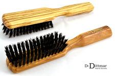 Dr. Dittmar Herren Haarbürste Frisierbürste Pflegebürste Naturborsten OLIVENHOLZ